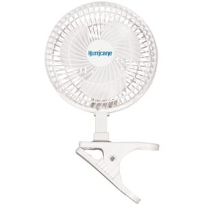 Hurricane® Classic Clip Fan – 6 in