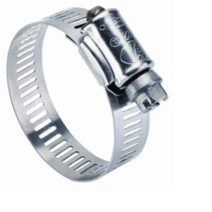 Hose Clamp 1/2 in. – 1 1/4 in. Stainless Steel Clamp (10 Pack)