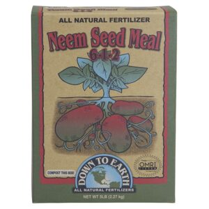 Down To Earth Neem Seed Meal 6 – 1 – 2