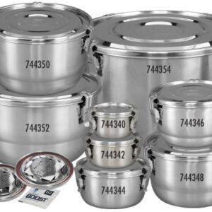 CVault Humiguard Clamp Sealing Stainless Steel Containers