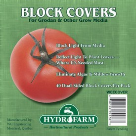 Rockwool Block Covers Pack of 40