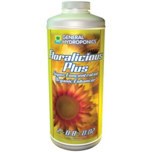 General Hydroponics® Floralicious® Plus 2 – 0.8 – 0.02