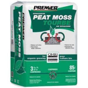 Premier Peat Moss 3 cu ft