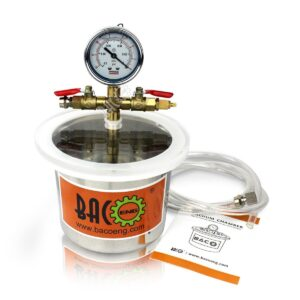 2 Quart Stainless Steel Vacuum Chamber Kit