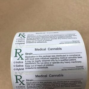 Rx Lables 1000 Medical Cannabis