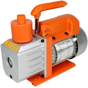 Best Value Vacs 3CFM Single Stage Vacuum Pump