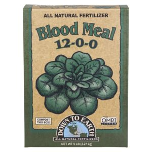Down To Earth Blood Meal – 5 lb