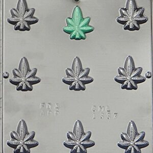 Candy Mold Cannabis Leaf Bite Size