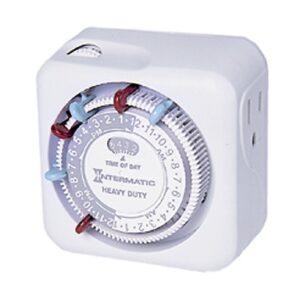 Intermatic Timer Mechanical, 15A/120V