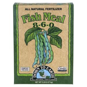 Down To Earth™ FISH Meal 8- 6 – 0- 5lb