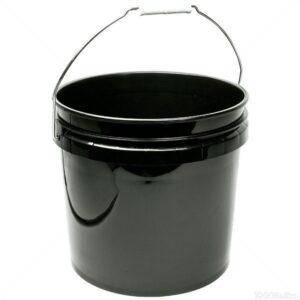 Gro Pro Black Plastic Bucket