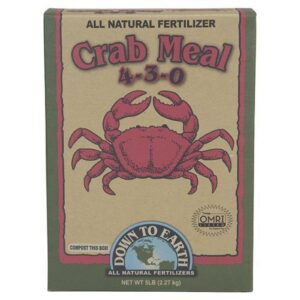 Down To Earth™ Crab Meal 4 – 3 – 0