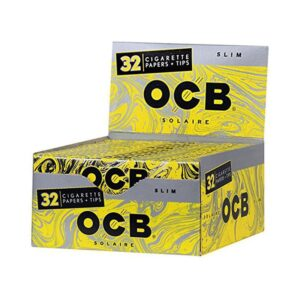 OCB Organic Hemp Rolling Papers Slim Size