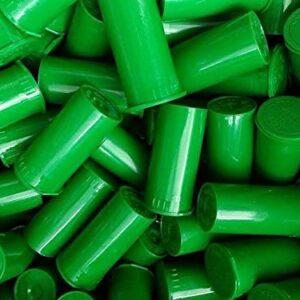 Green Pop Top Medicine Bottle