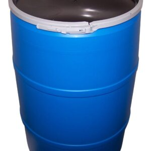 55 Gallon Barrel with Lid – Food Grade
