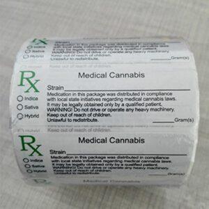 DC RX Labels