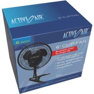 Active Air 6″ Clip Fan, 5W